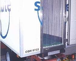 Divisória para baú refrigerado
