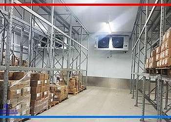 Câmara refrigerada industrial