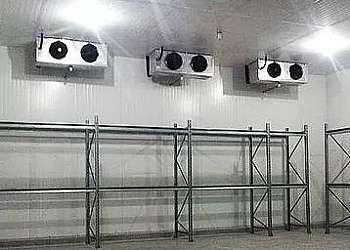 Instalação de câmaras de refrigeração