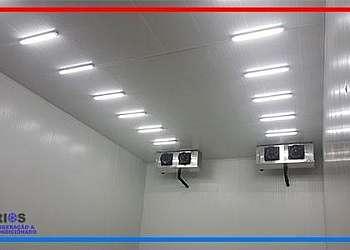 Instalação de câmara frigorifica